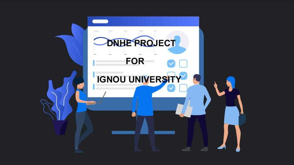 Ignou DNHE Project